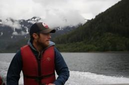 Matt on Boat Ride