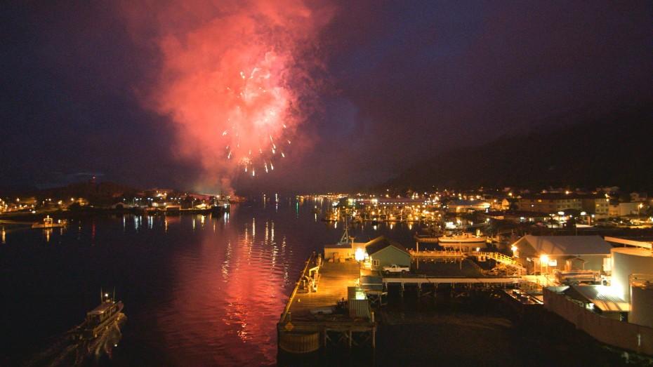 Fireworks over Sitka
